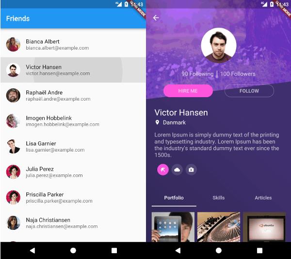 Flutter app dating site