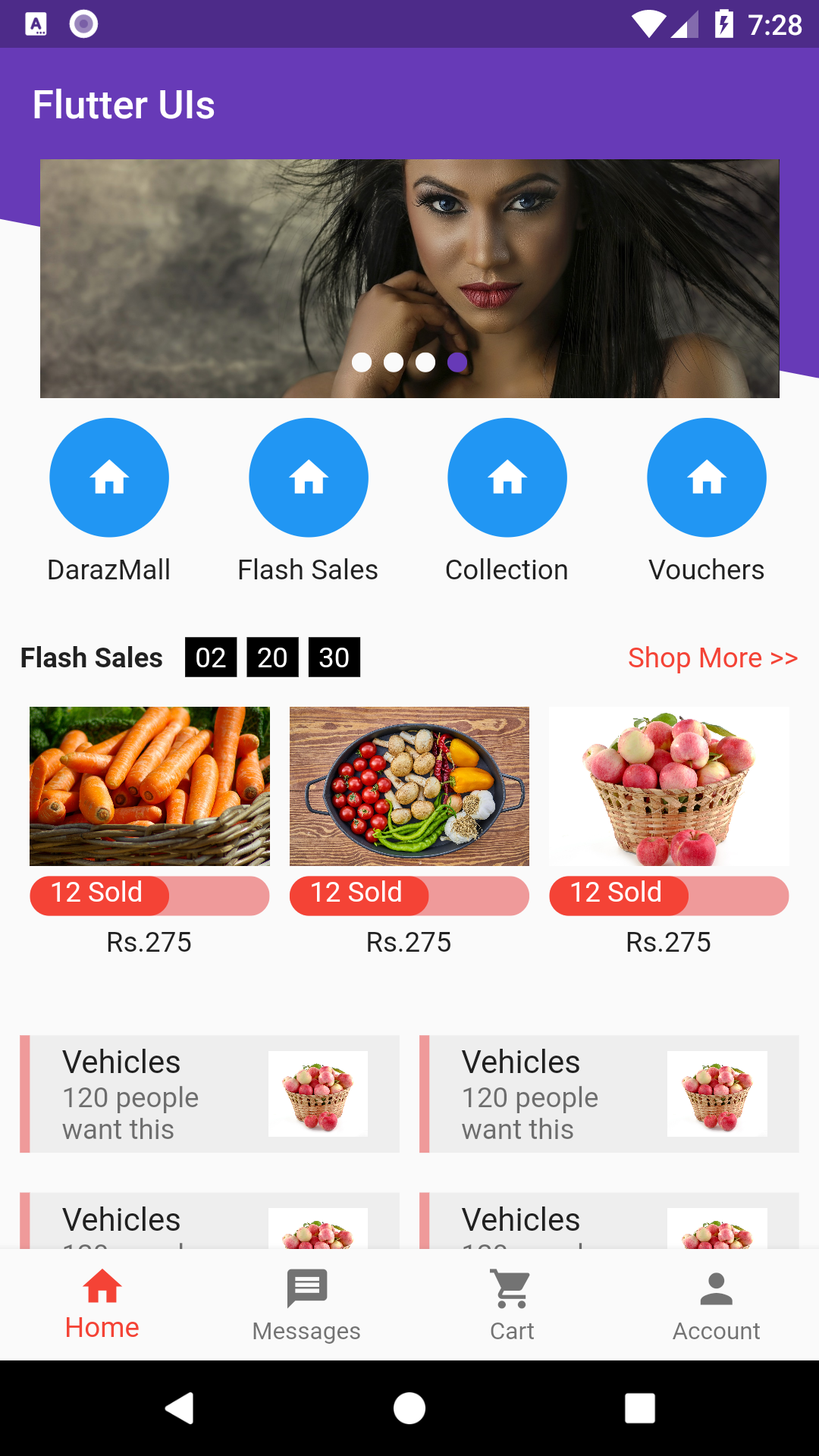 Start Flutter | Free Flutter Themes for Android and iOS