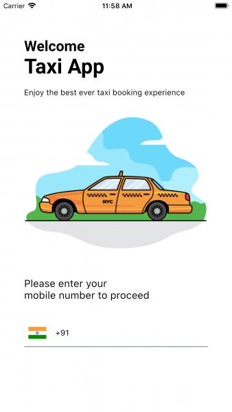 Flutter Taxi App Theme