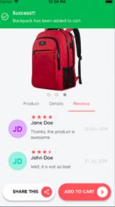 Flutter E-Commerce App Theme